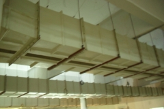 FIBERGLASS AIR DUCTING AT GUL AHMED TEXTILE