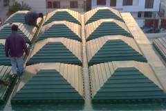 "CANOPY ROOF SHADE Size 6'4""x6'4"""