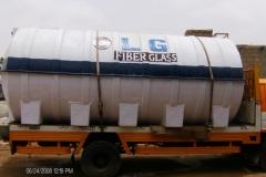 FIBERGLASS WATER TANK 5000 US GALLONS