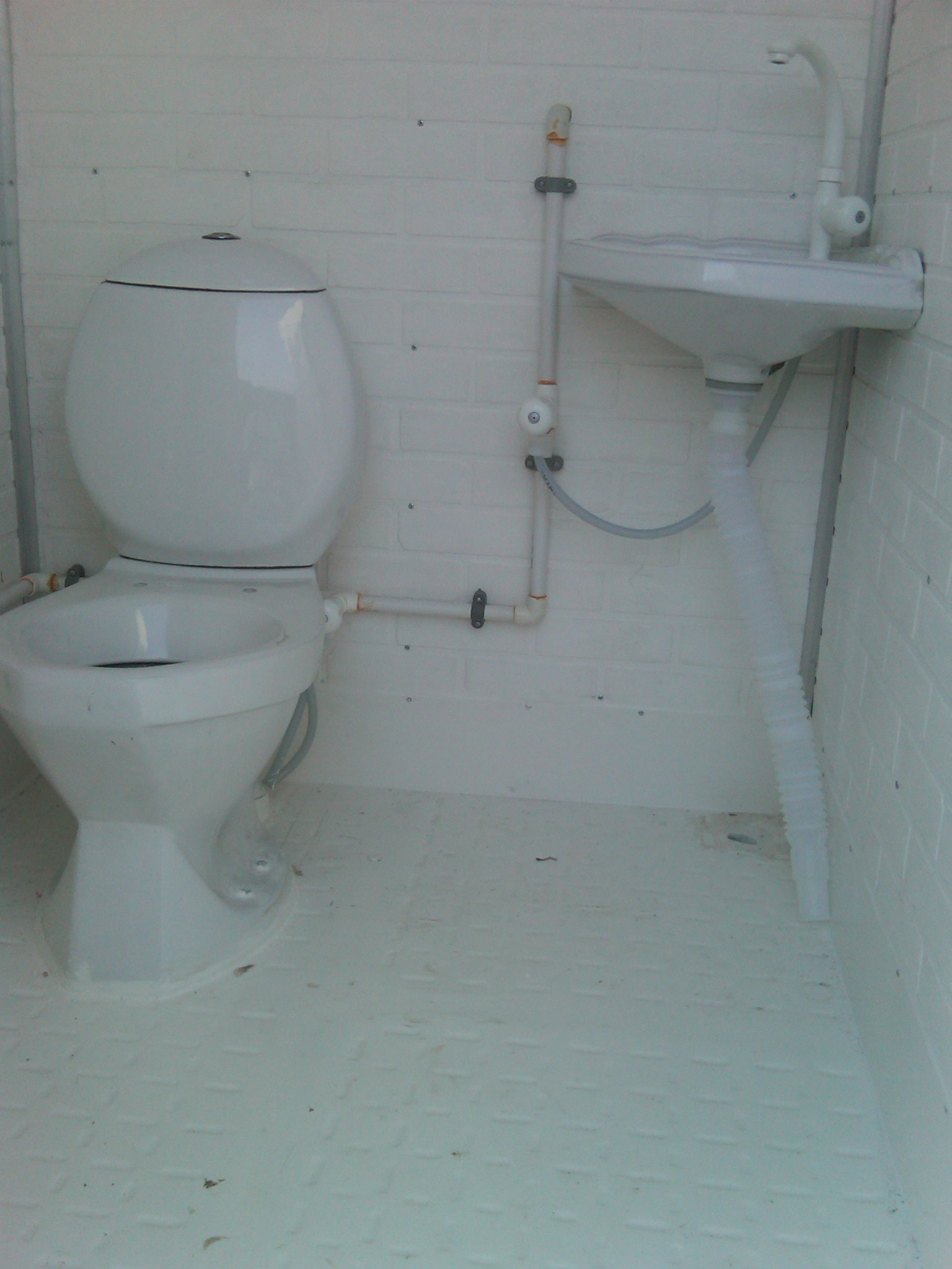 double side sheet portable toilet 4�x4� � ak fiberglass