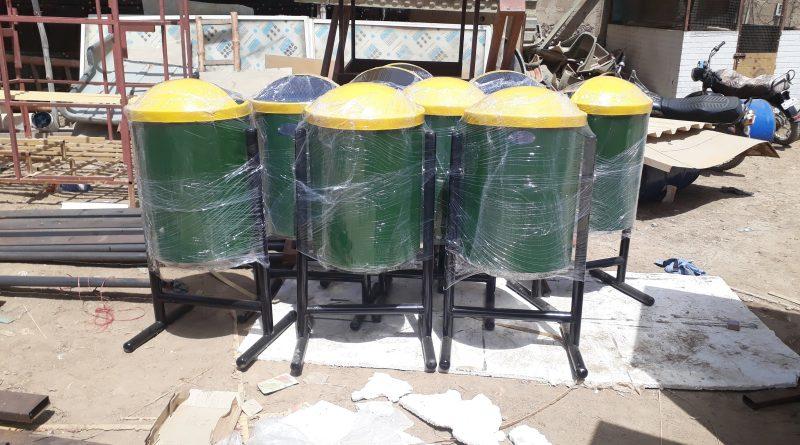 fiberglass Dustbin manufacturer Karachi Hyderabad