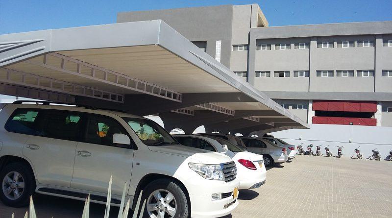 fiberglass car parking shade manufacturer Karachi Hyderabda Larkana