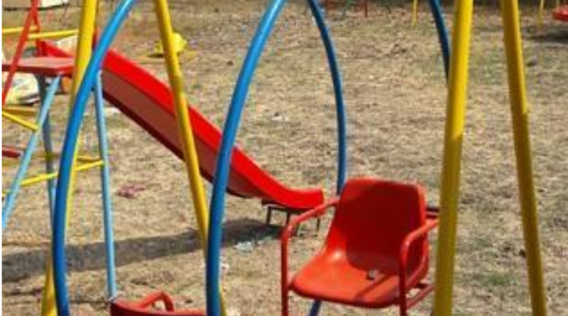 KIDS SWINGS RIDES SEESAW HYDERABAD LARKANA SUKKUR MIRPUR KHAS