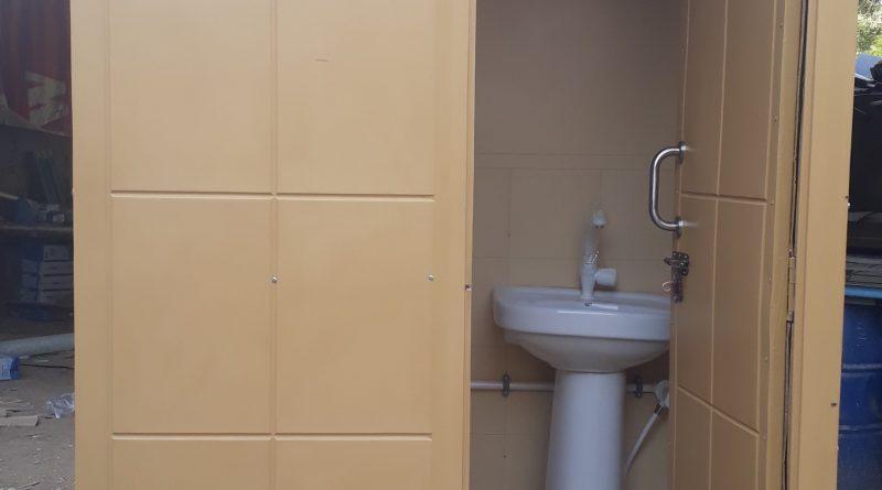 Portable toilet washroom karachi ak fiberglass for Washroom photo