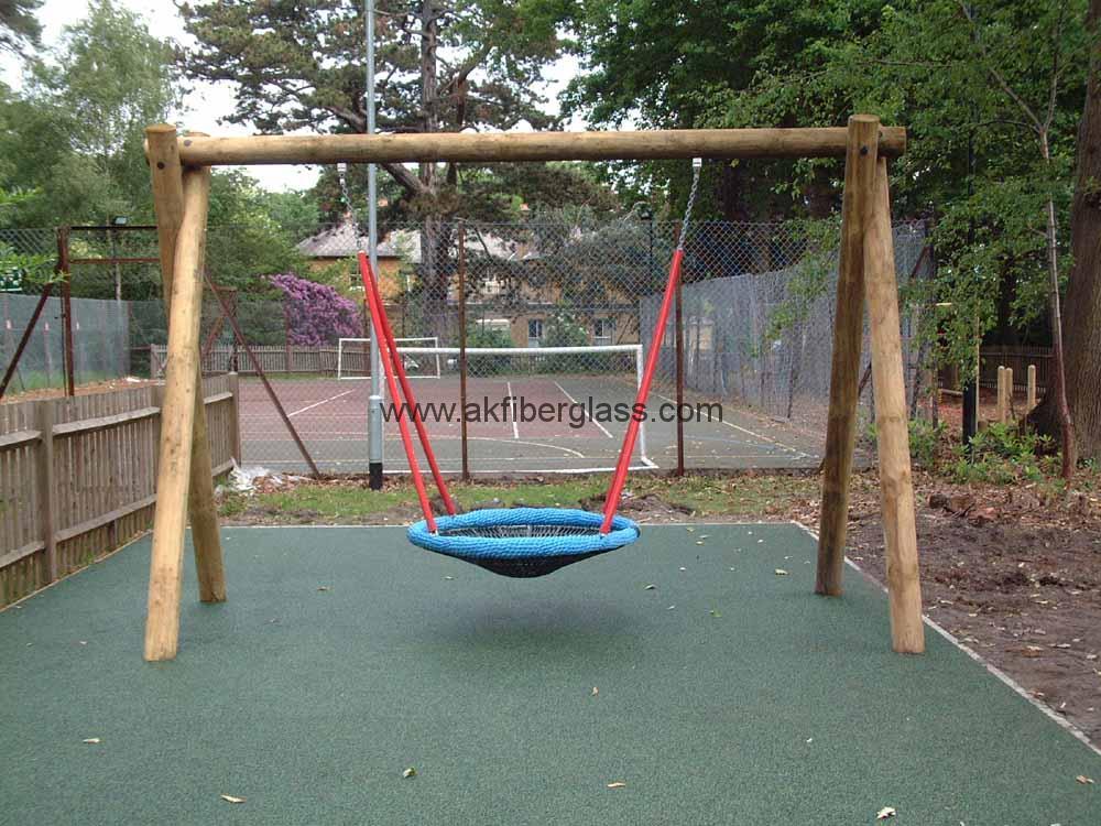 fiberglass swings playground equipment